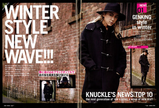 MEN'S KNUCKLE 2015年1月号 P18-19