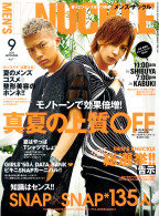 MEN'S KNUCKLE 2015年9月号
